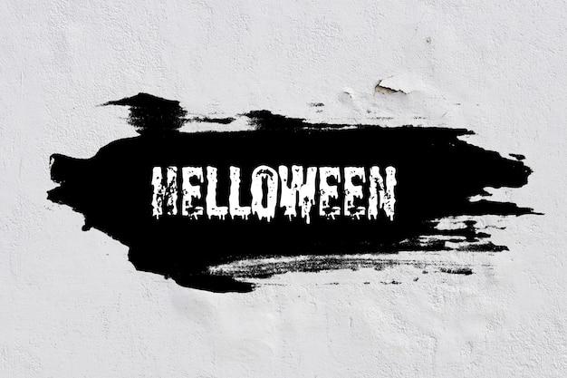Faixa preta em um fundo abstrato. feriado de halloween. foto de alta qualidade