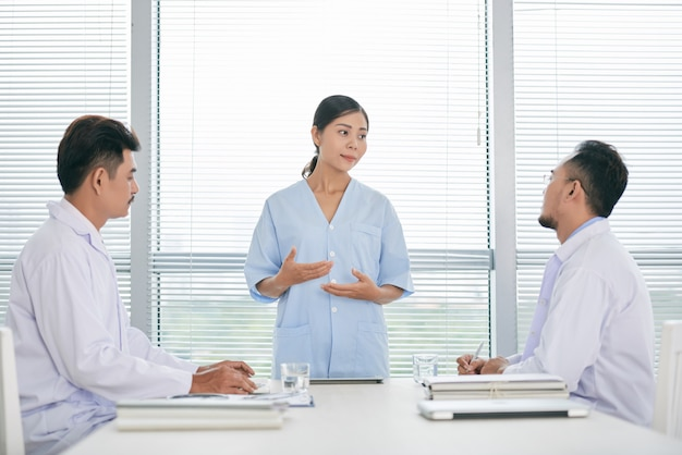 Falando sobre medicina