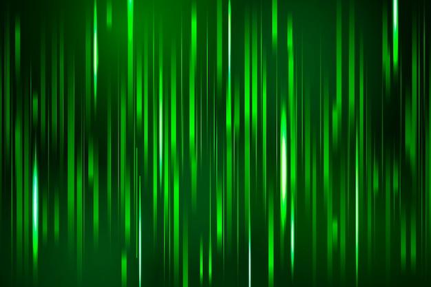 Falha verde em fundo escuro