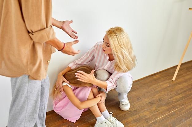 Família briga em casa