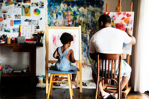 Família de artistas