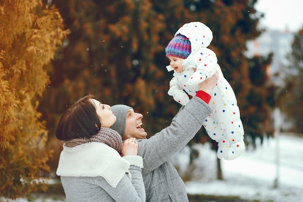 Família de inverno