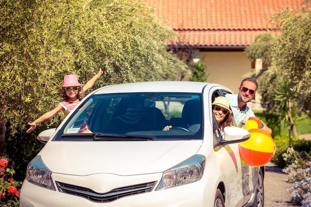 Família vai de férias de verão