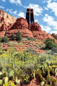 Famosa capela da santa cruz, arizona