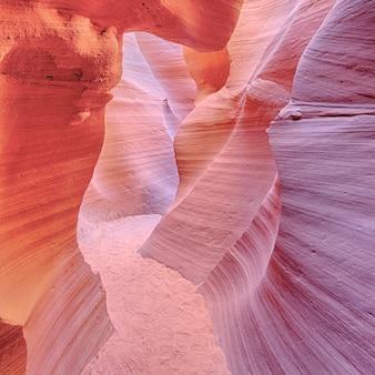 Famoso antelope canyon, page, arizona, eua
