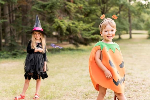 Fantasia de halloween para crianças