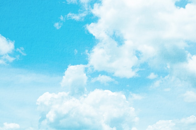 Fantasia e vintage nuvem dinâmica e céu com textura grunge para o fundo