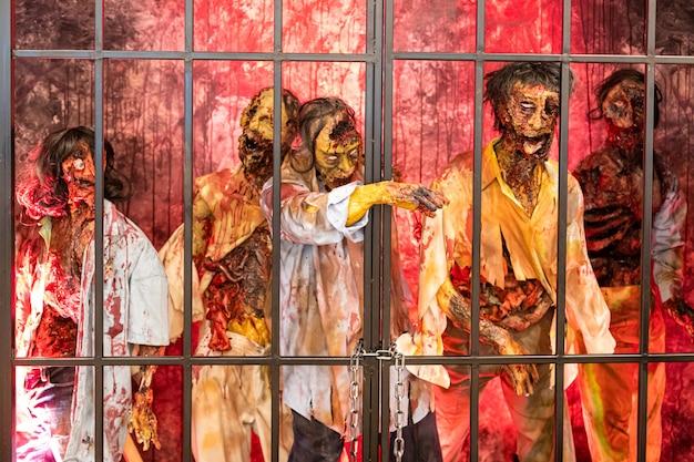 Fantoche fantasma dia das bruxas tailândia assustador