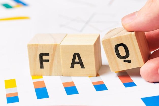 Faq de conceito sobre os principais temas do tema de analítica financeira.