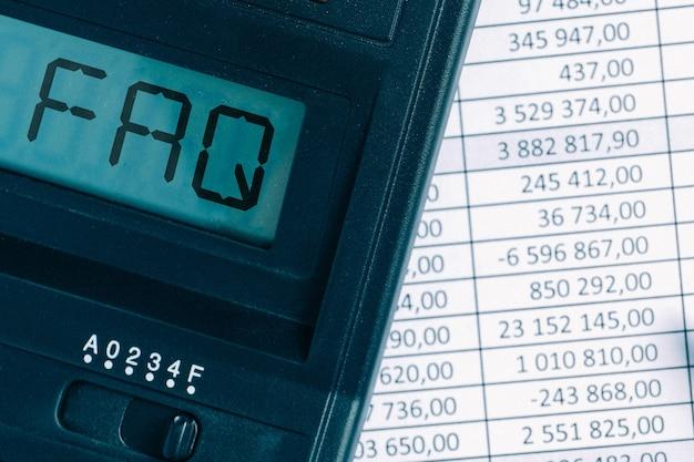 Faq de conceitos sobre os principais assuntos em matéria de contabilidade.