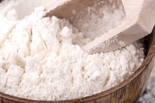 Farinha de trigo branco