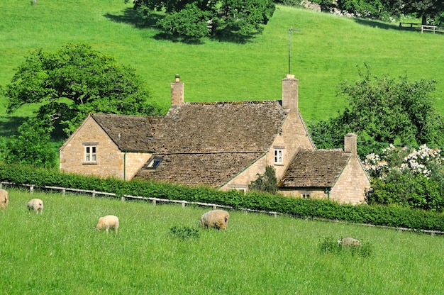Farmhouse em inglês interior de cotswolds