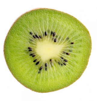 Fatia de kiwi close-up