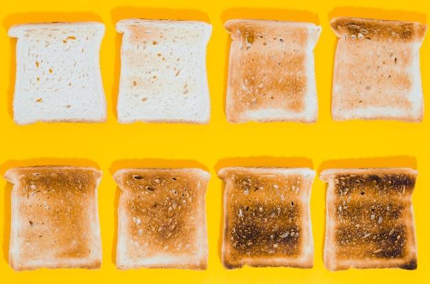 Fatia de pão torrado