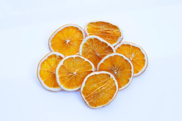 Fatias de laranja secas