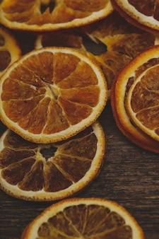 Fatias de laranjas