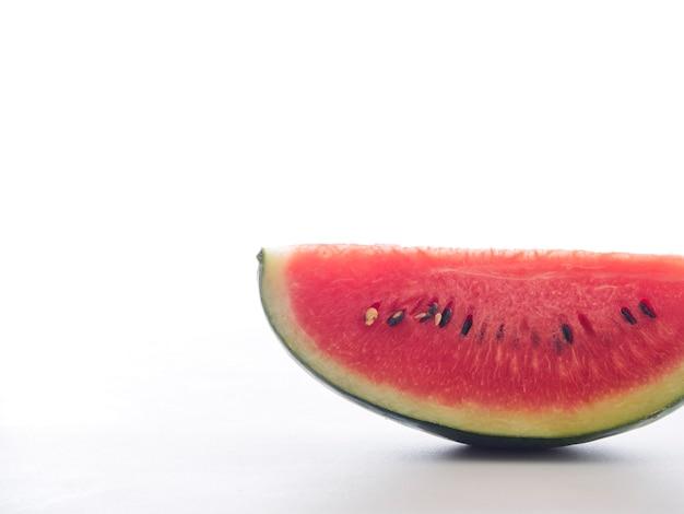 Fatias de melancia doce