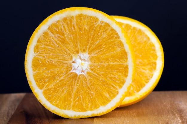 Fatias de tangerina de laranja