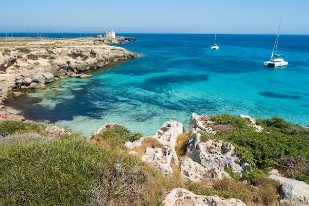 Favignana island.sicily, itália, aegadian