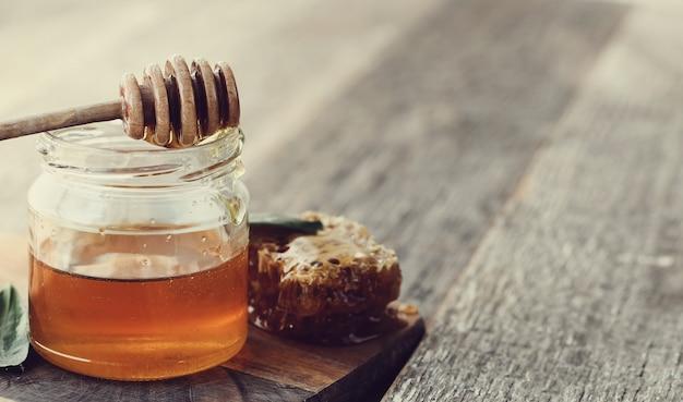 Favo de mel com jar