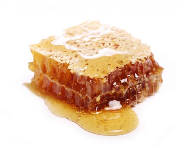 Favos de mel frescos