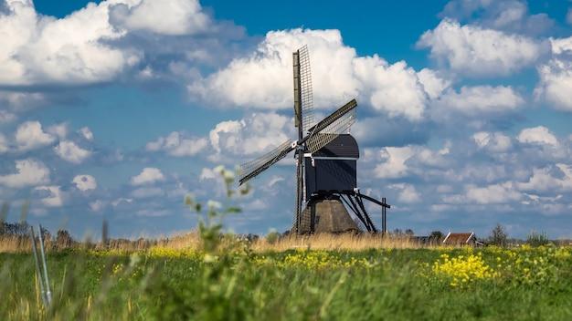 Fazenda do moinho de vento do lago