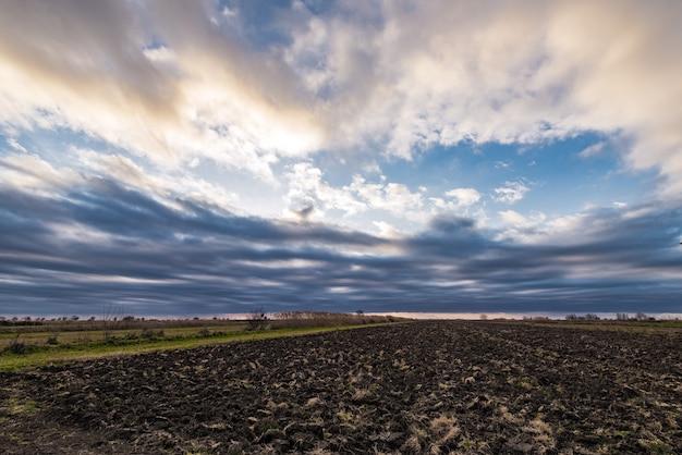 Fazenda terra arável