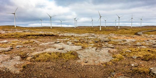 Fazenda vento em faroe