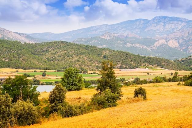 Fazendas e campos em lleida