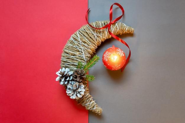 Fazendo decorações de natal passo a passo