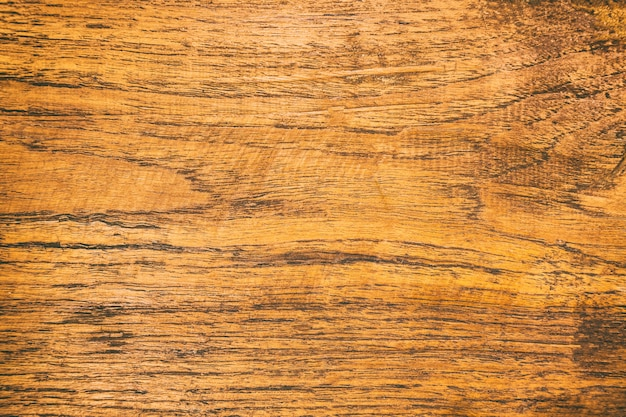 Fechar a mesa de madeira rústica com textura de superfície de grãos