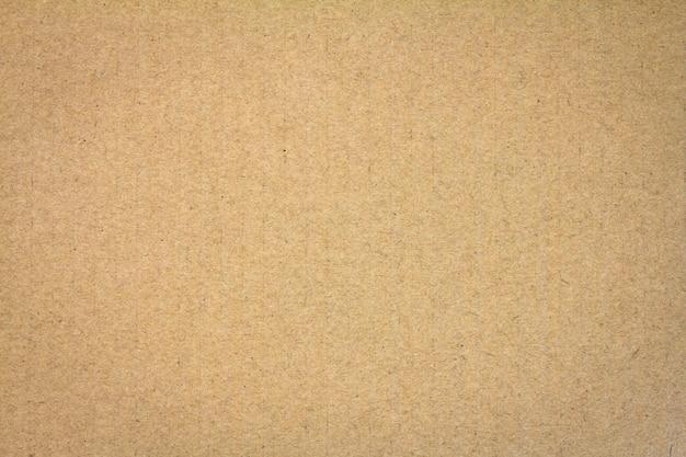 Fechar o fundo de textura de papelão marrom