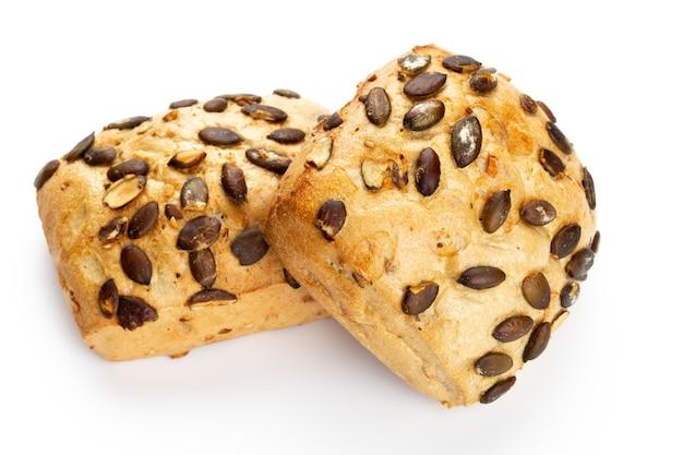 Fechar pães ecológicos de centeio