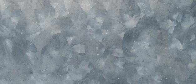 Feche a textura de zinco e o fundo com espaço de cópia