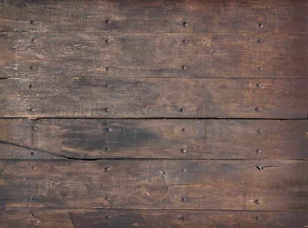 Feche a velha textura de madeira vintage.
