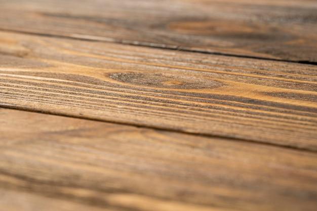 Feche a vista superior da superfície do material de madeira
