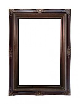 Feche acima do frame de retrato da oxidação do vintage