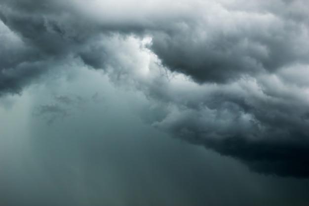Feche acima do fundo da nuvem de tempestade.
