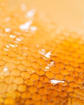 Feche o favo de mel