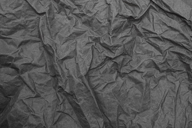 Feche o fundo de textura de papel amassado amassado para design