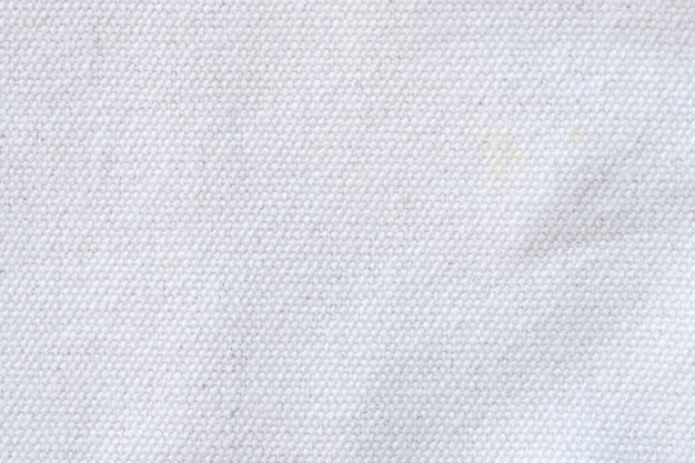 Feche o fundo de textura de tecido branco