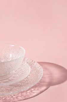 Feche pratos transparentes