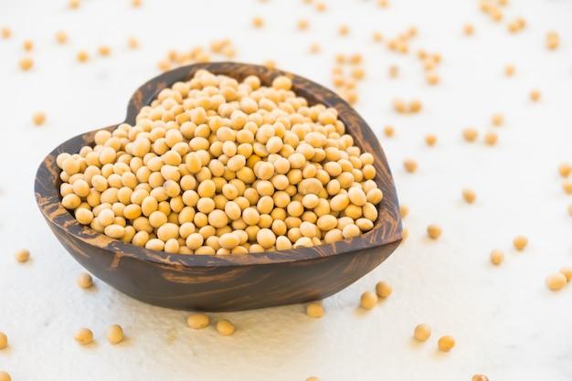 Feijão de soja amarelo