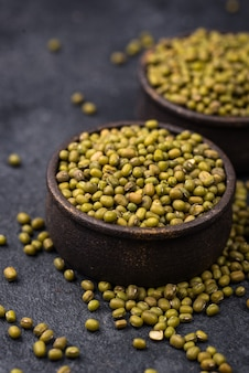 Feijão verde leguminosas saudáveis