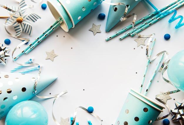 Feliz aniversário ou festa de fundo