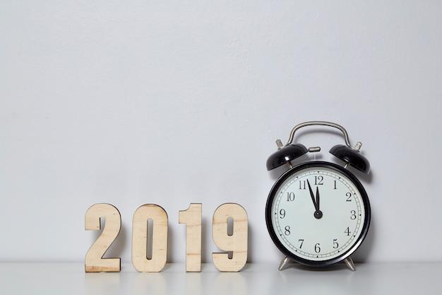 Feliz ano novo 2019 conceito