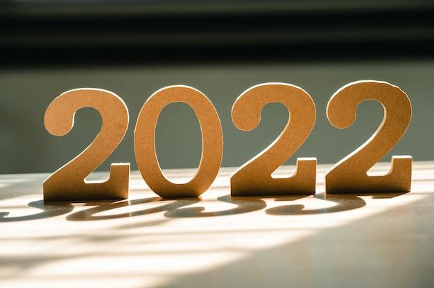 Feliz ano novo 2022 feriado fundo e banner.