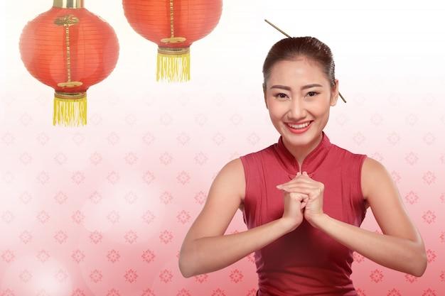 Feliz ano novo chinês conceito