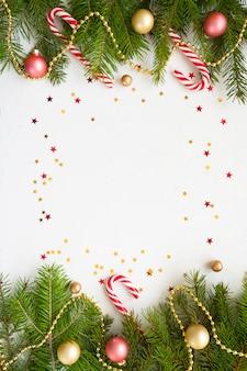 Feliz ano novo e feliz natal. fundo
