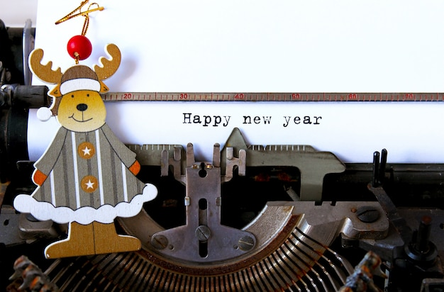 Feliz ano novo texto